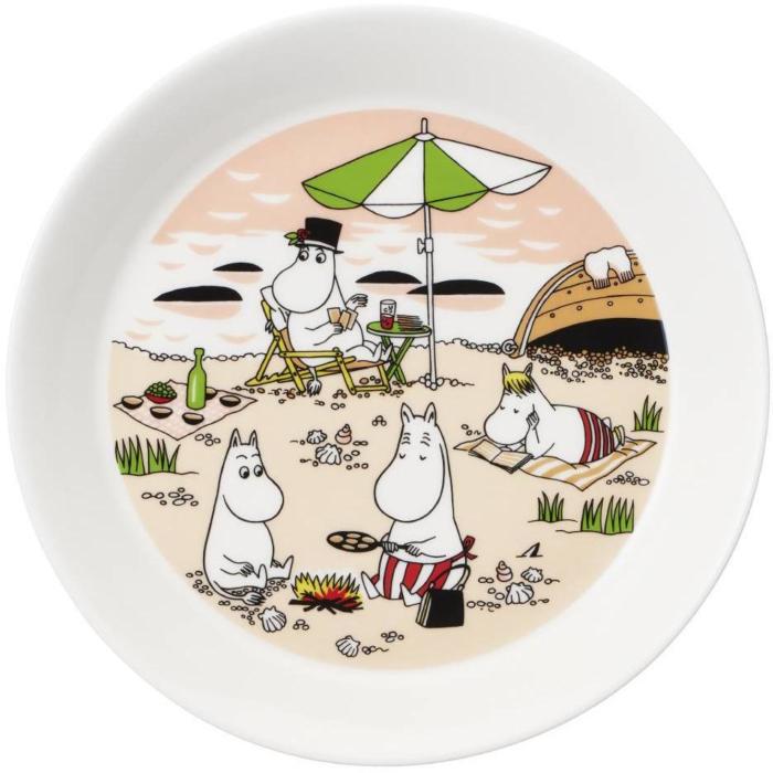 Arabia Moomin Teller 19cm Together