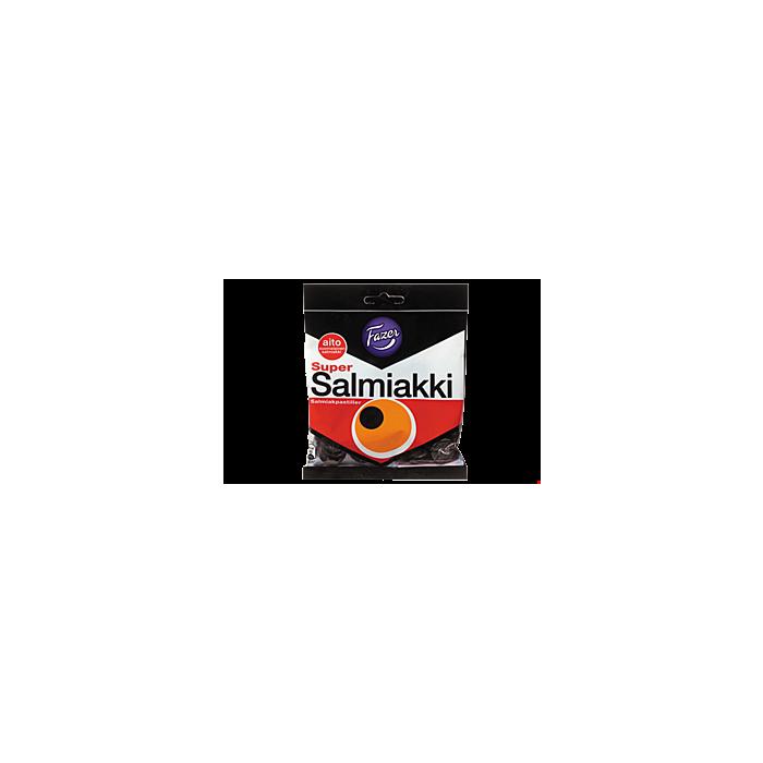 Fazer Super Salmiakki Lakritz Bonbons 80g