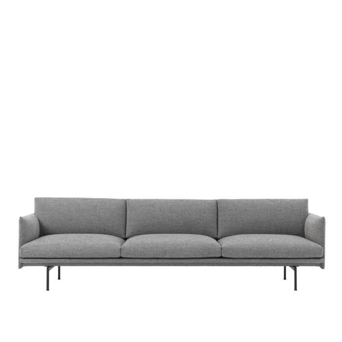 Muuto Outline Sofa 3 1/2 Sitzer