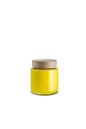 Holmegaard Palet Aufbewahrungsglas/Dose Gelb