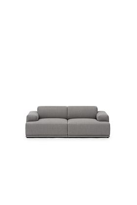 Muuto Connect Soft Modular Sofa 2-Sitzer