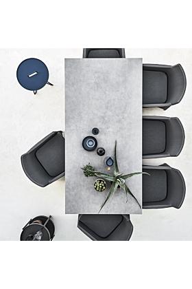 Cane-line Pure Tisch 200x100 cm/ Gestell Hellgrau