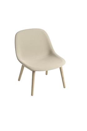 Muuto Fiber Lounge Sessel Holzbasis 4 Beine