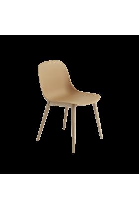Muuto Fiber Stuhl Holzbeine