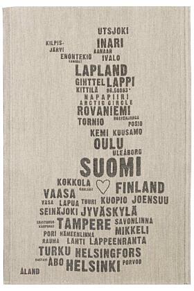 Lapuan Kankurit My Finland Küchentuch