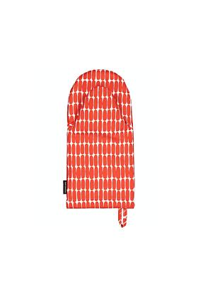 Marimekko Alku Ofenhandschuh-Rot