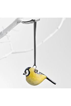 Mifuko Baumschmuck Vogel Gelb