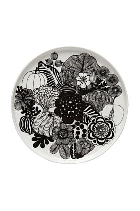 Marimekko Siirtolapuutarha Teller 20 cm Blumenmuster